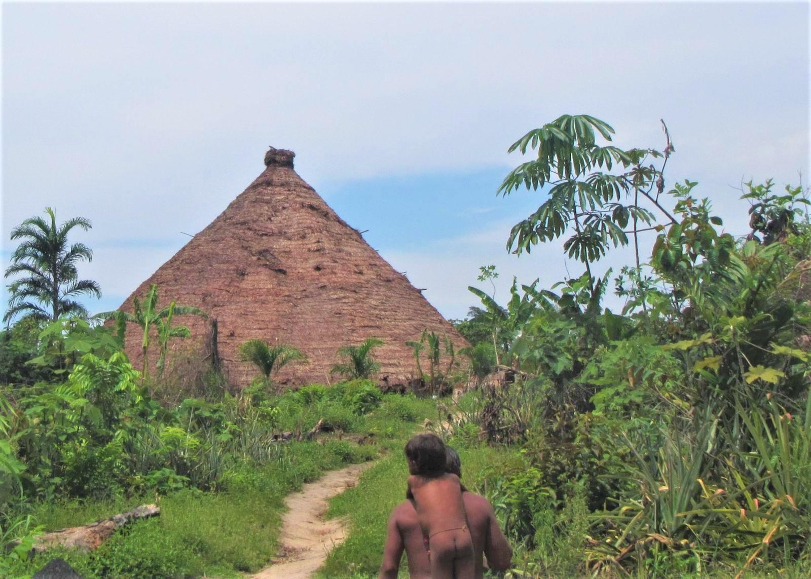 A terra indígena onde vivem os Suruwahá, no sul do Amazonas, é um dos alvo das investidas de missionários evangélicos (Daniel Cangussu-FPE Madeira Purus/Funai)