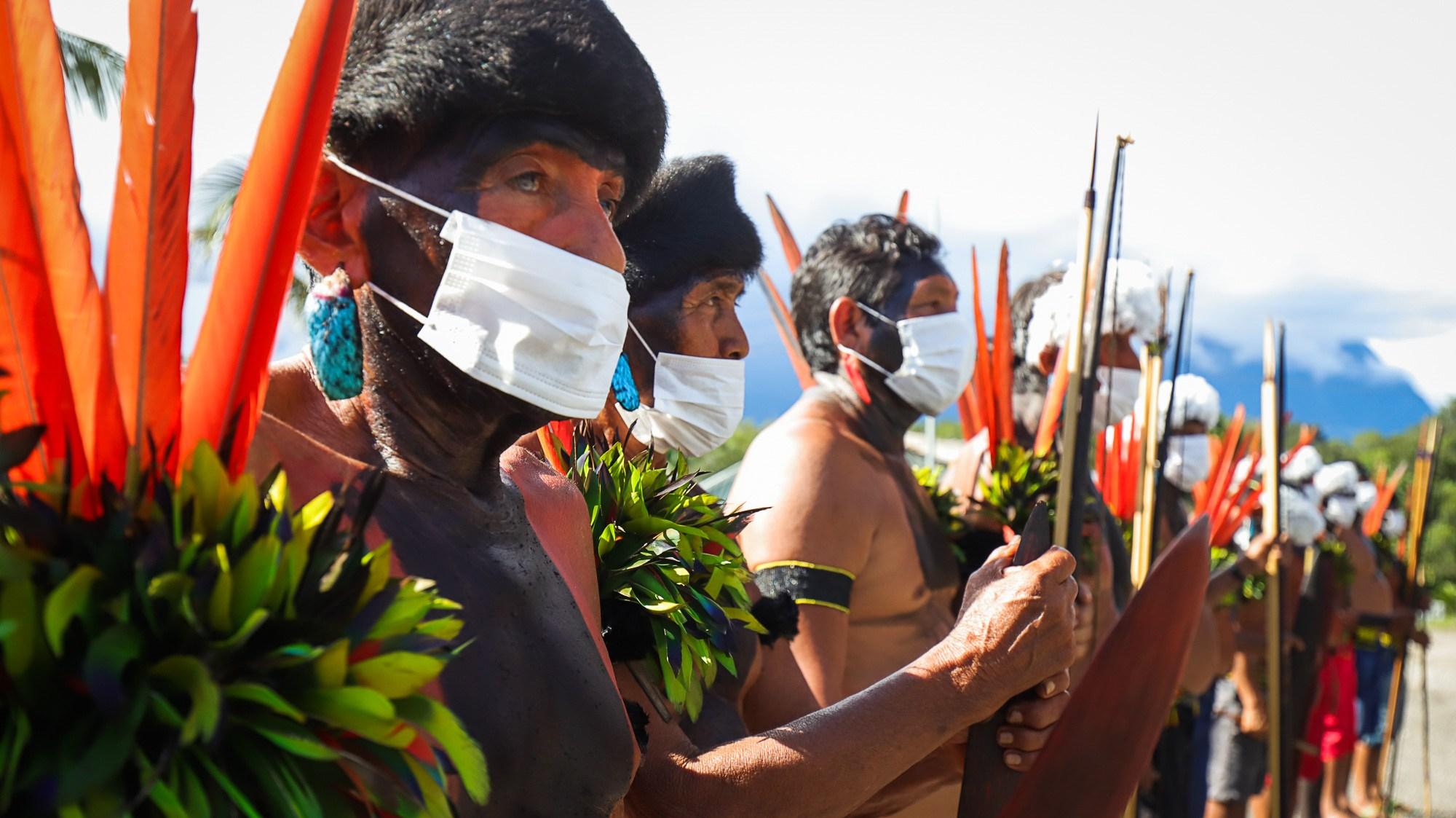Yanomami em Maturacá, na fronteira com a Venezuela